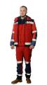 Suit ambulance men's Softshell jacket