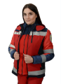 Jacket demisezonnaya ambulance, women's