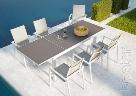 Furniture set for garden