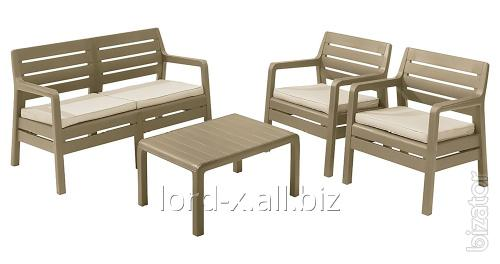 A set of benches