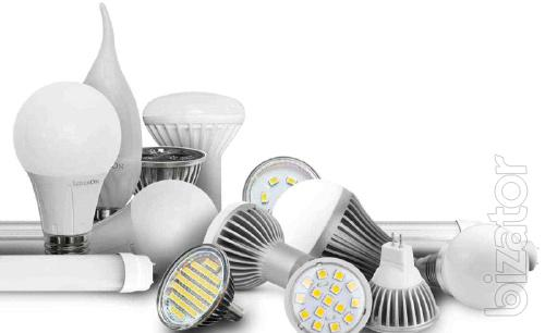 Led lamps and other lighting fixtures