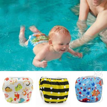 Panties diapers reusable for swimming in the pool and on the beach