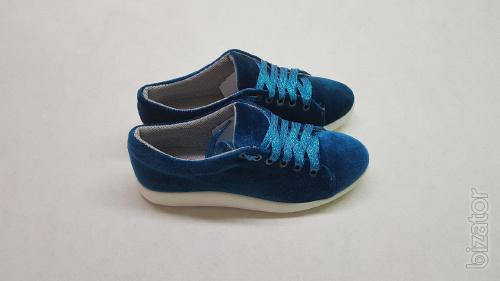 Shoes from the manufacturer sneakers velvet(2108-4)