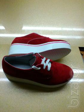 Shoes manufacturer shoes red(239т1)
