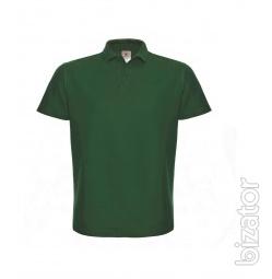 Unisex t-shirt B&C ID.001, Polo shirt with short sleeve