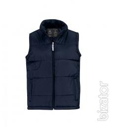 Vest insulated with B&C unisex Bodywarmer