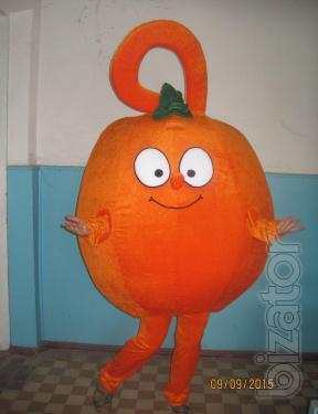 Mascot, Orange, Pumpkin