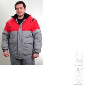 Winter working suit