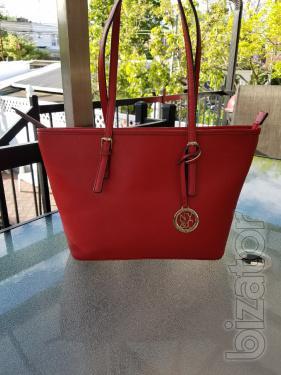 Сумка New York & Company red shopper, бу