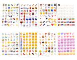 Smileys NEW* stickers. The office (set 19 PCs)