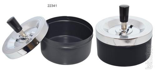 Metal smokeless ashtray for cigarettes Yula opt to sell Elenpipe
