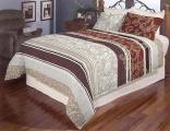 Bedding set, Queen, calico, color