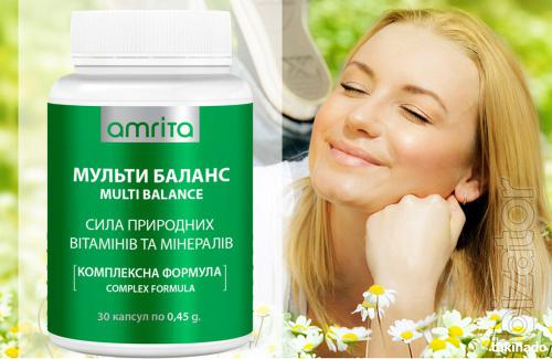 Amrita Multi Balance, 30 capsules. With delivery to Ukraine