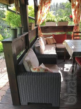 Garden furniture Moorea Set Unity Allibert rattan, Keter