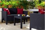 Orlando garden furniture Set With Small Table Allibert rattan, Keter