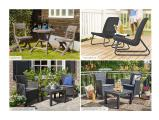 Garden furniture Balcony Set Rosario rattan Allibert, Keter