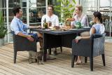 Outdoor furniture Columbia Dining Set 5 Pcs rattan Allibert, Keter