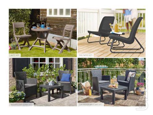 Garden furniture Set Alliber Jazz, Keter