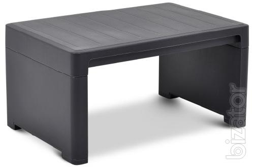 The table to the Lago chaise Lounge Side Table Allibert, Keter