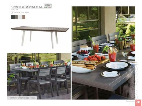Garden table Extendable Allibert Harmony, Keter