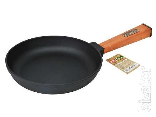 Cheap frying pan: cast iron cookware, grill pans, saucepan