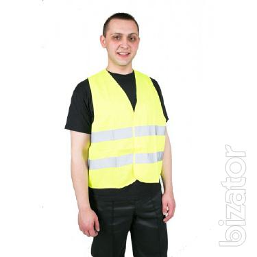 Vest-worker, to buy high-visibility jackets, reflective vest