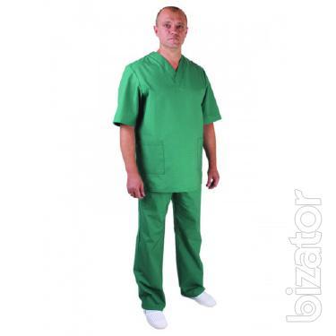 Costume men's health, buy men's medical suit