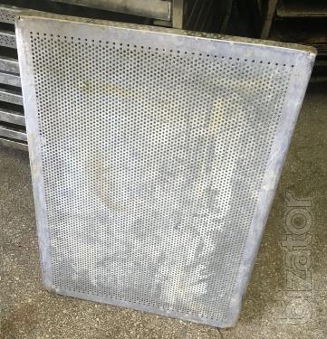 Perforated baking sheet pans baking sheet protoni aluminium