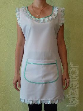 Apron for the seller, tailoring to order, opt