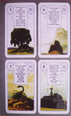 The Tarot Card. Prediction of fate.
