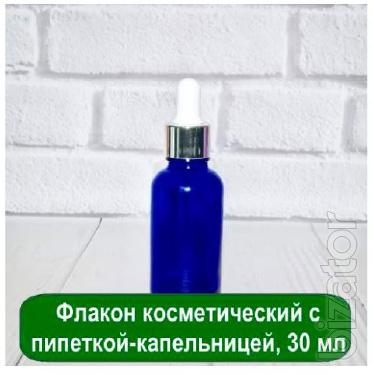 Bottle with pipette-dropper of 30 ml