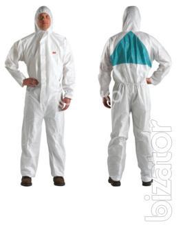 3M protective coveralls, non-woven material