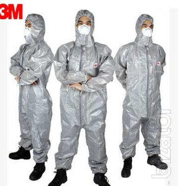 3M protective coveralls, protection from chemicals