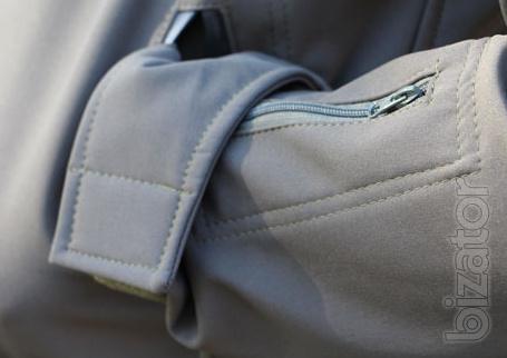 Suit jacket soft shell Olive