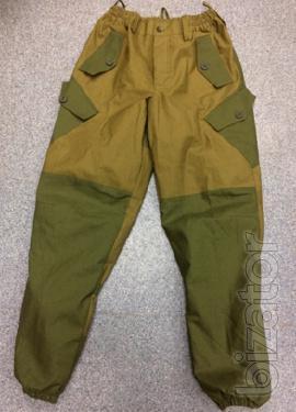 The assault suit Gorka Coyote-olive fleece-lined