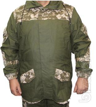 Suit Gorka with inserts pixel APU fleece liner