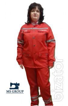 Suit for ambulance