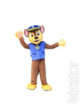 Mascot, the Racer from Sinyachiha patrol