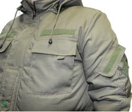 Suit insulated military Oliva, suit for winter protection