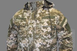 Suit winter camouflage, pixel APU