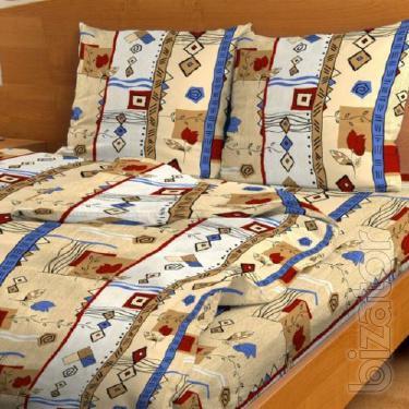 Bedding set printed calico