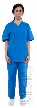 The medical model women's costume