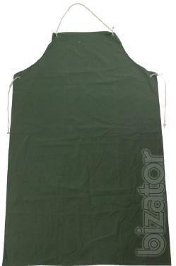 Apron PVC, green