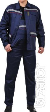 """Suit working """"Profesional"""" blue"""