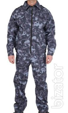 Suit Protection (camouflage Town)
