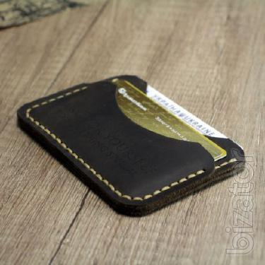 The image / Card case + Engraved as a gift! Mini purse, wallet