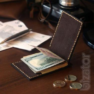 Compact wallet money Clip / bills AS a + Gift keychain