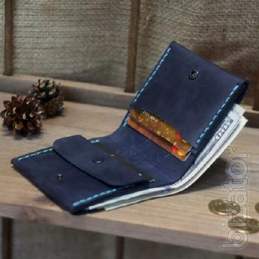 Leather wallet + Engraved gift. Purse, wallet, Gamanets