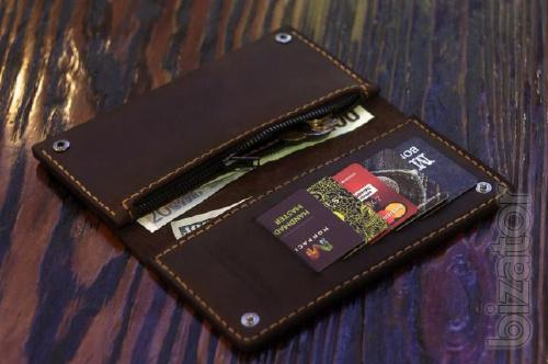 Men's purse, purse, clutch bag, travel carrying case skin + Gift keychain