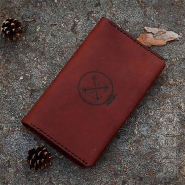 Travel wallet for travel with passport office. Clutch